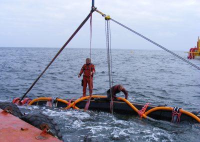 Midia Marine Terminal Subsea hose placing (2008)