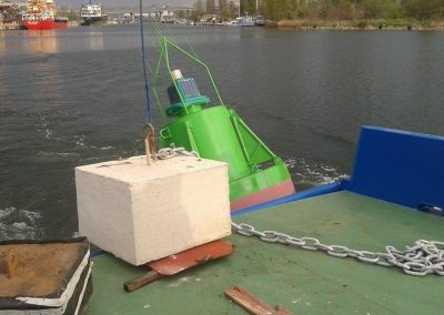 Placing of Buoys-1