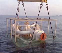 Midia Marine Terminal - Subsea hose placing