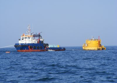 3. SPM Buoy (2013) Changing of subsea hose