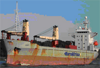 MV AZURYT CLEANING OF HULL