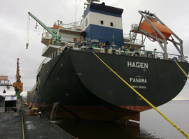 MV Hagen HULL INSPECTION