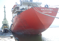 MV KALITHI HULL INSPECTION