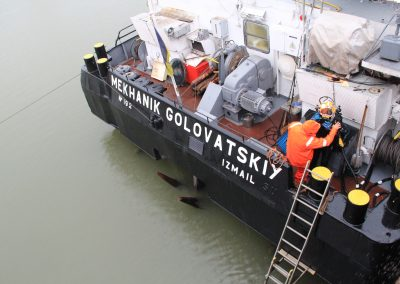 MV M. GOVOVATSKIY HULL INSPECTION