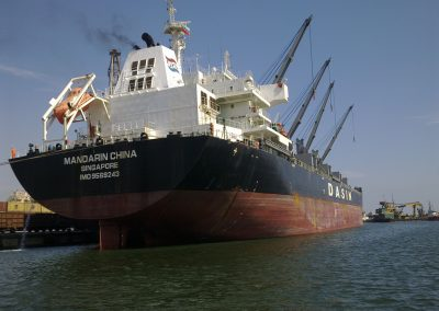MV MANDARIN CHINA HULL CLEANING