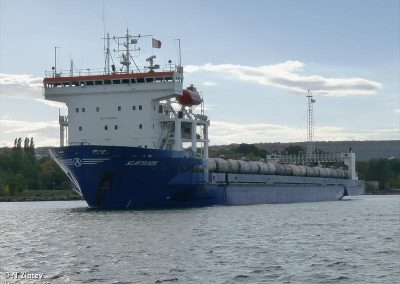 MV SLAVYANIN RS IN-WATER INSPECTION AND CLEANING OF SEA CHESTY