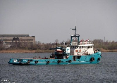 TUG ELIZA - BV - IN WATER INSPECTION