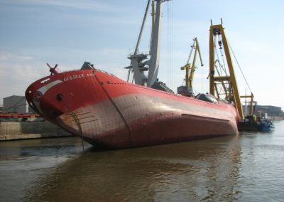 Gulizar Anna – Mutual Salvage Operation with Multra Ship